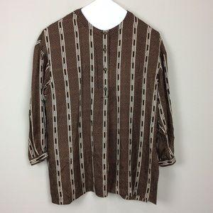 Vintage Anne Crimmons silk blouse